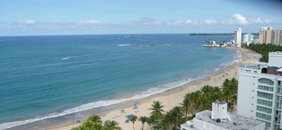 Isla Verde San Juan apartment rental - Isla Verde Beach at your feet.