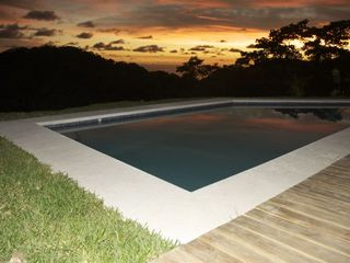 Mal Pais villa photo - The sunset from Casa Verde (looking toward Santa Teresa)