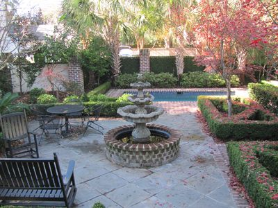 Charleston house rental - Patio Garden and Pool