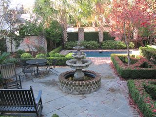 Charleston house photo - Patio Garden and Pool