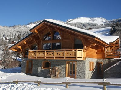 Beautiful chalet Chatel 200 meters to the ski lifts