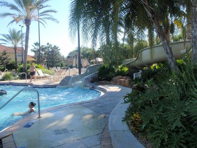 Regal Palms townhome rental - Waterslide