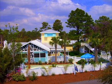"Seagrove Beach house rental - ""Banana Cabana"": A Storybook Cottage by the Sea!"