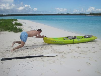 Great Exuma house rental - kayak included
