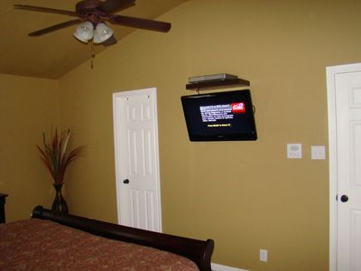 All Bedrooms have Wall Mounted Flatscreen TV's