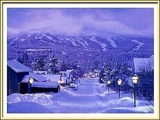 Breckenridge townhome photo - View down street