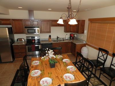 3rd Dining Room area & 2nd Full Kitchen. (Cle Elum area vacation rental cabin)