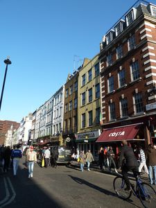 Soho apartment rental - Old Compton Street