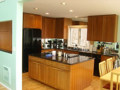 Cook in a beautiful, modern kitchen - the designer was a gourmet chef.