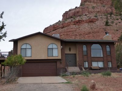 Kanab house rental - two story house. two car attached garage (with opener)