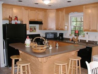 Bryson City cabin photo - Modern kitchen, fully equipped including daily coffee