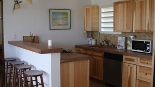 Vieques Island property rental photo - Guest House Kitchen