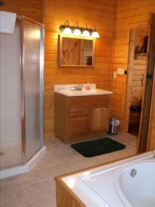 1 of 3 master baths (jacuzzi, shower etc.)