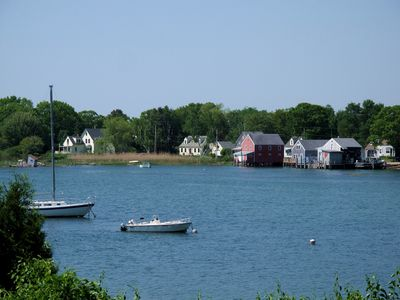 Cape Porpoise Harbor in Kennebunkport