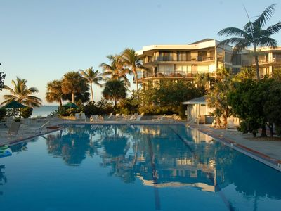Key West condo rental - View of pool & part of complex