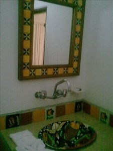 talavera tiled bathrooms