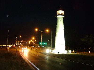 The historic Biloxi Light House
