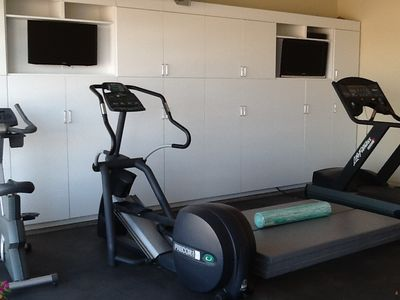 Marfa house rental - Exercise Room