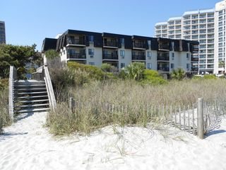 Long Bay Dunes condo photo - Long Bay Dunes from the Beach
