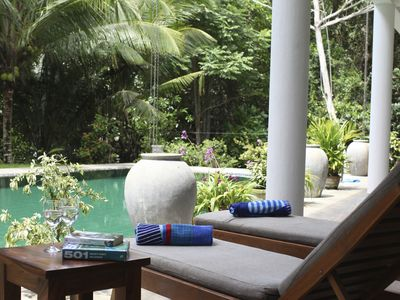 Luxury home from home villa, in peaceful tropical surroundings