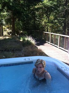 Eastsound house rental - hot tub (mother not included)