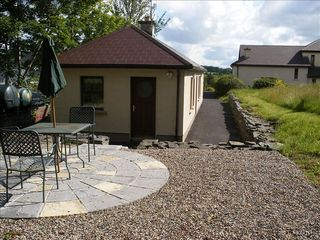 County Clare cottage photo - Cottage Patio - MountShannon in East Clare
