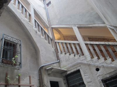 San Polo apartment rental - stairs
