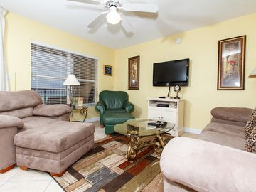 Fort Walton Beach condo rental - Living Room