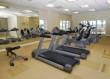 Exercise Room has the latest machines and free weights