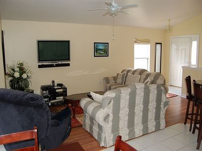Davenport villa rental - Living Area