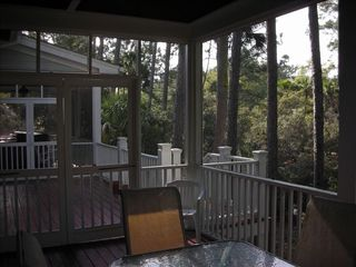 Seabrook Island house photo - View of deck from east screened porch