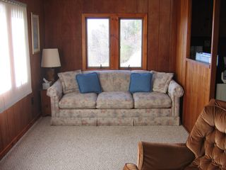 Port Sanilac cottage photo - Living room area with pull out sofa