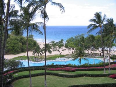 Spectacular pool and ocean fun at the Hapuna Beach Prince Resort.
