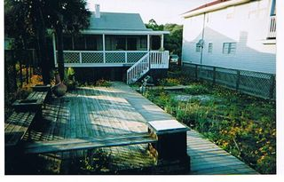 Folly Beach house photo - Folly Beachfront Vacation Home with Large Deck
