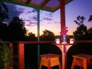 Drake Bay cottage photo - Sunrises and good Costa Rican coffee are guest favorites!