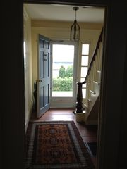 Damariscotta house photo - front hall