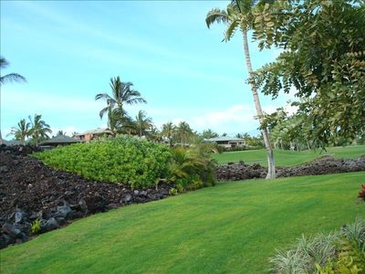 View from Lanai to golf course and multi million $ homes