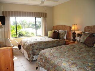 Grand Cayman condo photo - Guest Bedroom with 2 Queen Beds