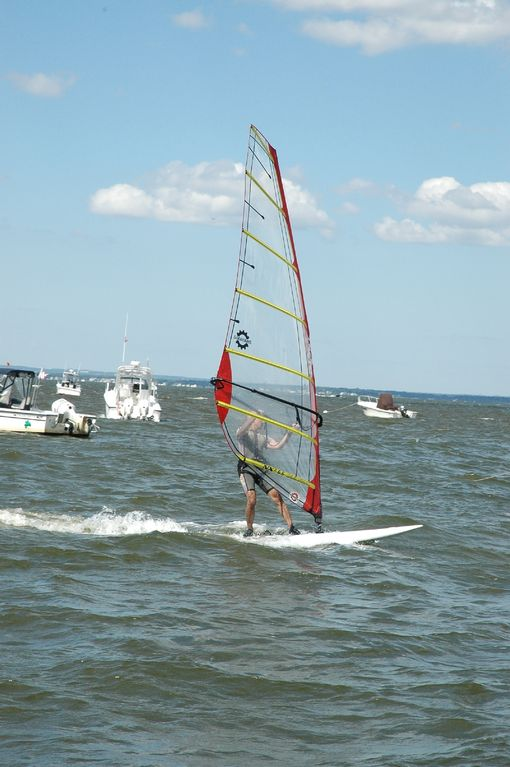 Great windsurfing on the Great South Bay