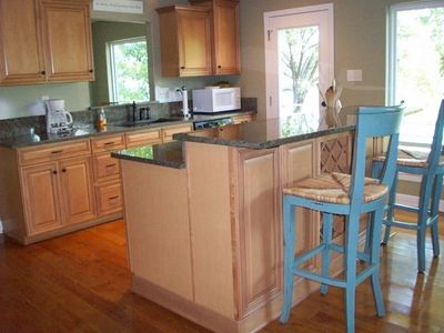 Fully Stocked Kitchen with Granite Counters & New Stainless Appliances