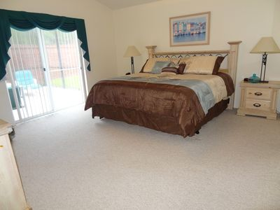 Kissimmee villa rental - Master Bedroom
