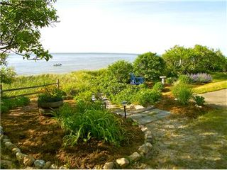 Brewster house photo - Enjoy sunsets and outdoor dining on the west deck