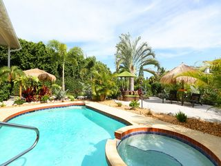 Anna Maria house photo - Sirenia Beach House - Resort Style Living Heated Salt Water Pool/Spa, Anna Maria