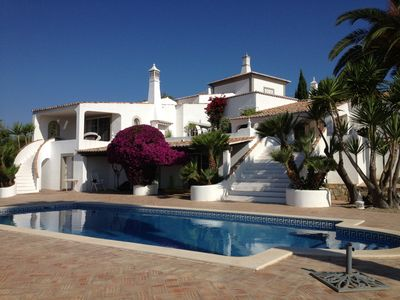 Luxury villa with private pool, fantastic views