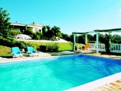 With Private Pool, Internet, Tennis Court And Sea Views
