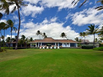 Kauai's most popular oceanfront rental.