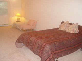 Lake Wallenpaupack house photo - Master Bedroom- Queen bed, twin bed and private bath