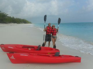 Great Exuma cottage photo - 2 kayaks included in rental