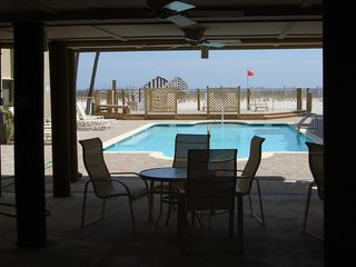 Perdido Key condo photo - Gulf Front Pool also offers a wonderful shaded dining area!