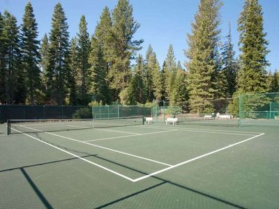 Tennis Courts at Recreation Center